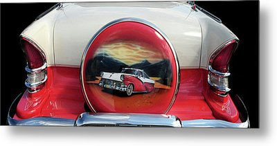Ford Fairlane Rear Metal Print