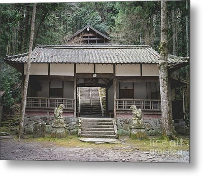 Forrest Shrine, Japan Metal Print