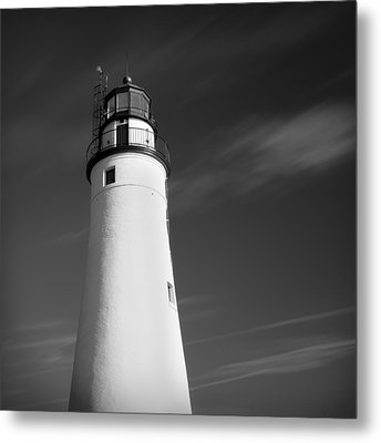 Metal Print featuring the photograph Fort Gratiot Lighthouse by Gordon Dean II