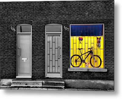 Frame-framed Metal Print by Russell Styles