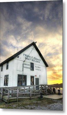 Frank F. Penney Boat Builder Metal Print