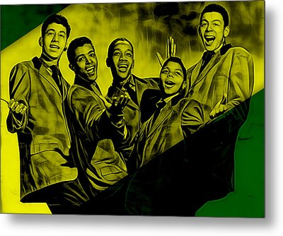 Frankie Lymon Collection Metal Print by Marvin Blaine
