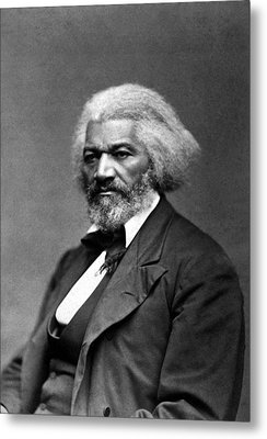 Frederick Douglass Metal Print by War Is Hell Store