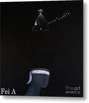 Freedom Metal Print by Fei A