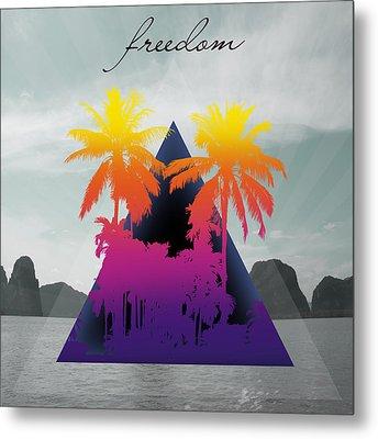 Freedom  Metal Print by Mark Ashkenazi