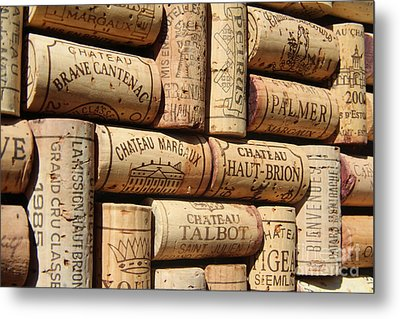 French Wines Metal Print by Anthony Jones