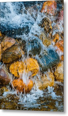 Metal Print featuring the photograph Fresh Water by Alexander Senin