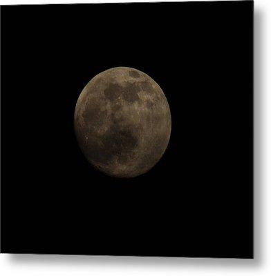 Full Moon Metal Print by Thomas  MacPherson Jr