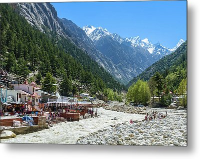 Gangotri - Indian Himalayas Metal Print by Nila Newsom