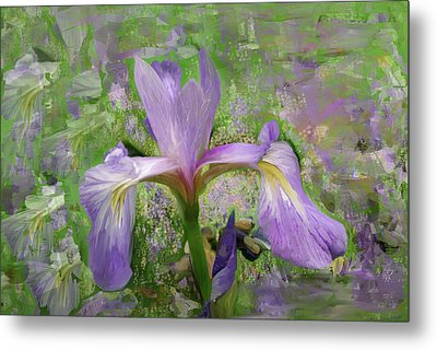 Garden Of Eden Painting  Metal Print by Don  Wright