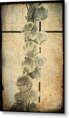 Garlic Metal Print