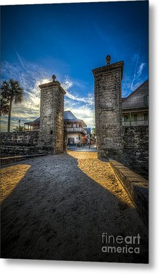 Gate To The City Metal Print by Marvin Spates