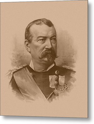 General Philip Sheridan Metal Print