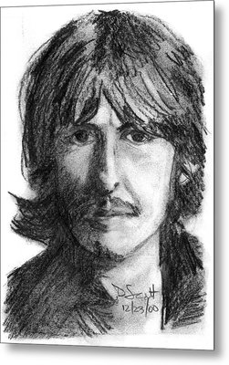 George Harrison Metal Print by Daniel Scott
