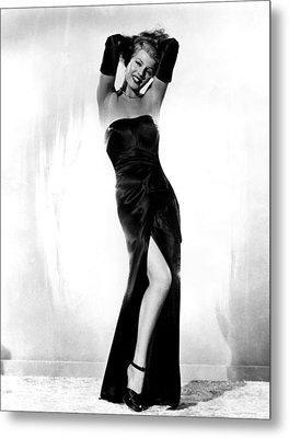 Gilda, Rita Hayworth, 1946 Metal Print
