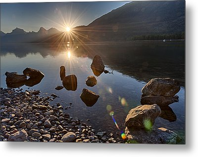 Glacier National Park 100th Anniversery Metal Print by Kevin Blackburn