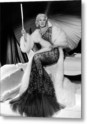Go West, Young Man, Mae West, 1936 Metal Print by Everett