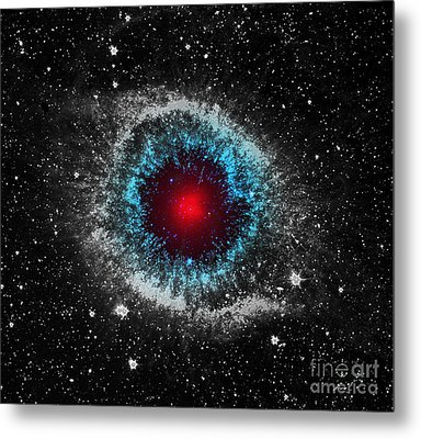 God's Eye Metal Print by Patricia Januszkiewicz