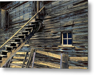 Golden Barn  Metal Print