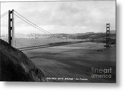 Golden Gate Bridge Metal Print by Granger