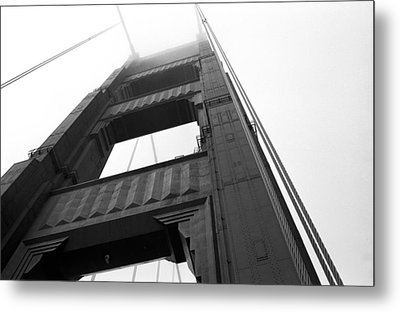 Golden Gate Tower 2 Metal Print by Mark Fuller