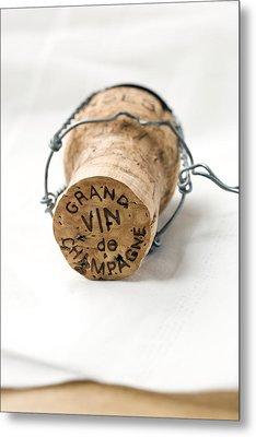 Grand Vin De Champagne Metal Print by Frank Tschakert