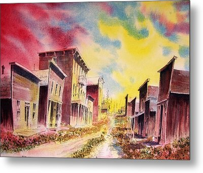 Granite Ghost Town Montana Metal Print by Kevin Heaney
