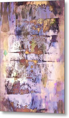 Grungy Abstract  Metal Print by Tom Gowanlock
