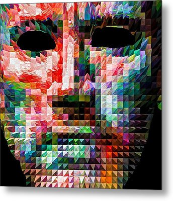 Guess This Person. Do You Know Who It Metal Print by David Haskett