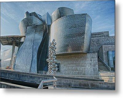 Guggenheim Museum Bilbao Spain Metal Print by James Hammond