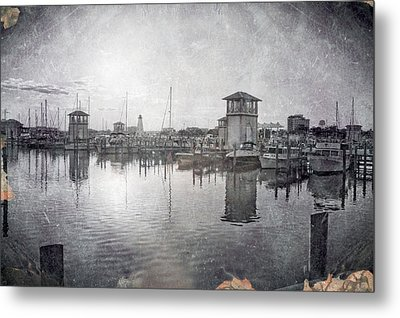 Gulfport Harbor  Metal Print
