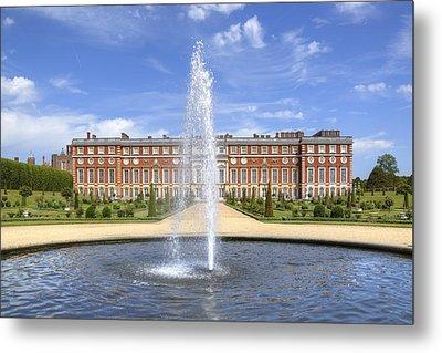 Hampton Court Palace - England Metal Print by Joana Kruse