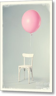 Happy Birthday Card Metal Print by Edward Fielding