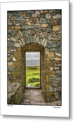 Harlech View Metal Print by R Thomas Berner