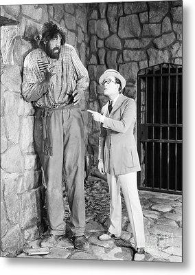 Harold Lloyd (1889-1971) Metal Print by Granger
