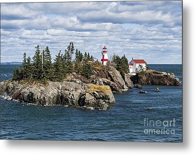 Head Harbour Lighthouse Metal Print