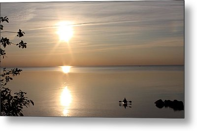 Metal Print featuring the photograph Heavenly Kayak by Pat Purdy