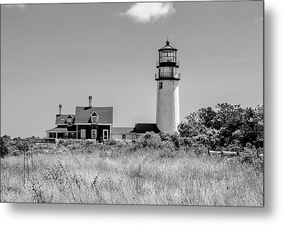 Metal Print featuring the photograph Highland Light - Cape Cod by Peter Ciro