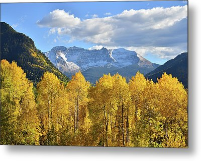 Metal Print featuring the photograph Highway 145 Colorado by Ray Mathis