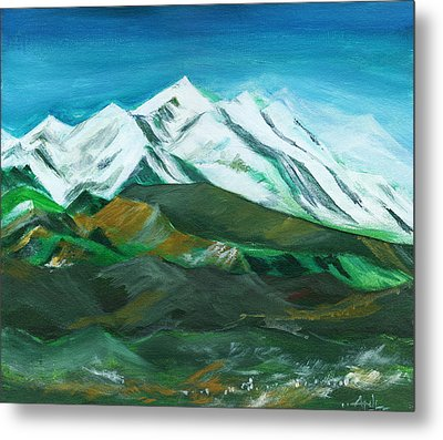 Himalaya Metal Print by Anil Nene