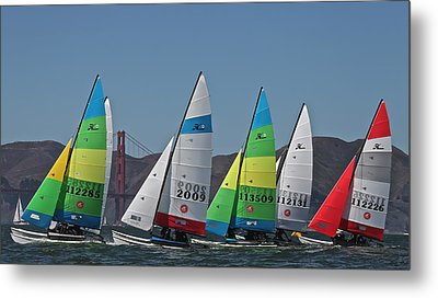 Hobie Cat Regatta San Francisco Metal Print
