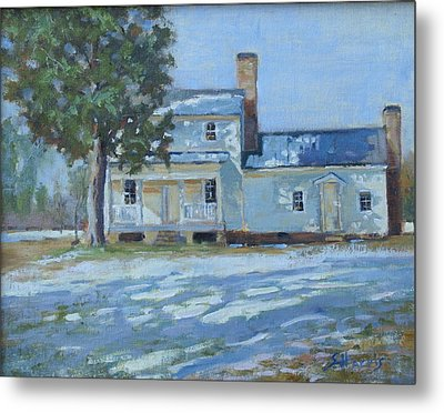 Hodge House C. 1811 Metal Print