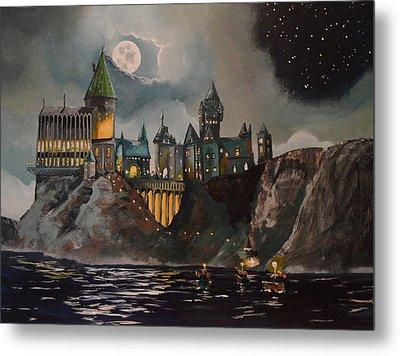 Hogwart's Castle Metal Print by Tim Loughner