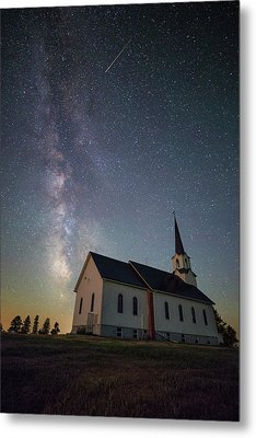 Metal Print featuring the photograph Holy  by Aaron J Groen