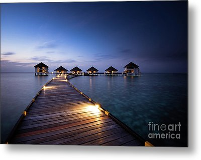 Metal Print featuring the photograph Honeymooners Paradise by Hannes Cmarits