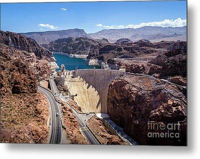 Hoover Dam Metal Print by RicardMN Photography