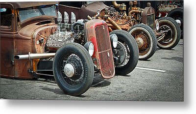 Hot Rods Metal Print by Steve McKinzie