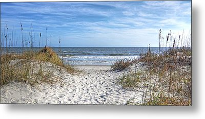 Huntington Beach South Carolina Metal Print