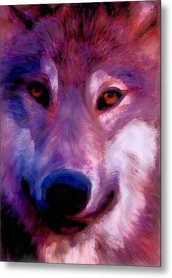 I Am Wolf Clan Metal Print