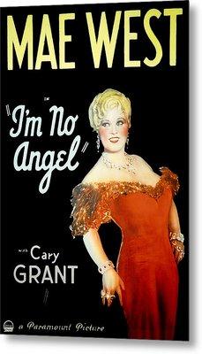 Im No Angel, Mae West, 1933 Metal Print